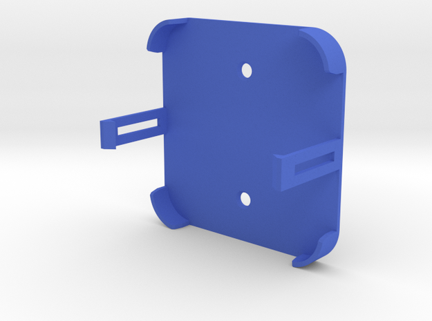 Obihai - Obi200 Wall Mount for VOIP phone adapter in Blue Processed Versatile Plastic