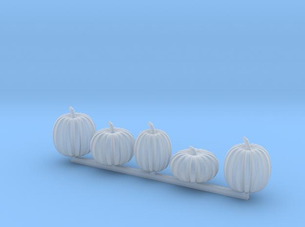 5 pumpkins in Smoothest Fine Detail Plastic