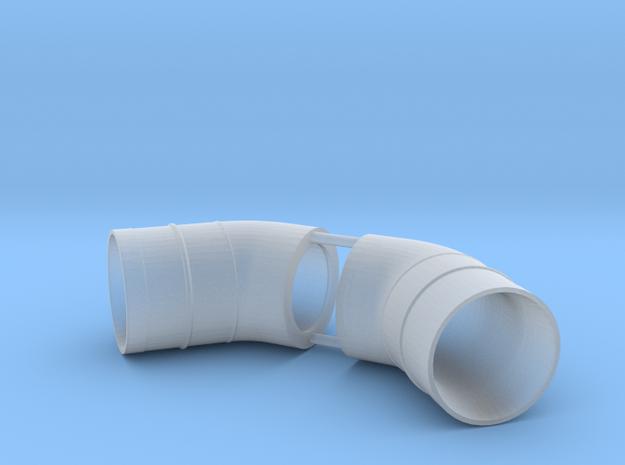 Westland Wessex Exhaust (pair) 1:32 in Smooth Fine Detail Plastic