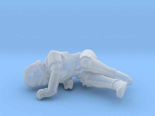 Dead Trooper Token (Empire) in Smooth Fine Detail Plastic