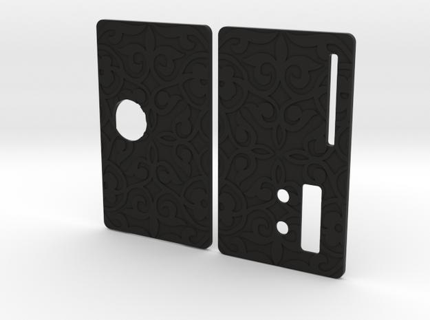 Sportello Billet Box Rev4  variante 4 in Black Natural Versatile Plastic