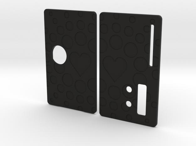 Sportello Billet Box Rev4  variante 12 in Black Natural Versatile Plastic