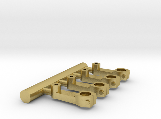 Crankpin in Natural Brass