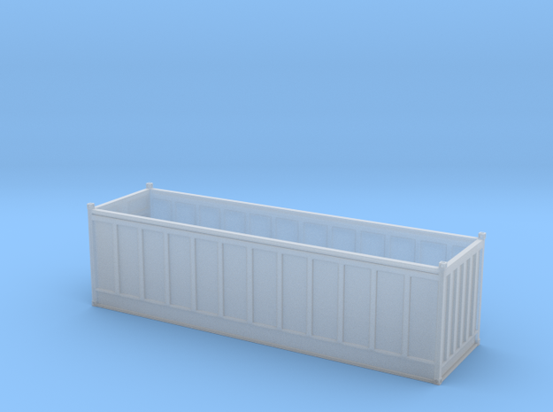 30ft Open Top Container in Smooth Fine Detail Plastic