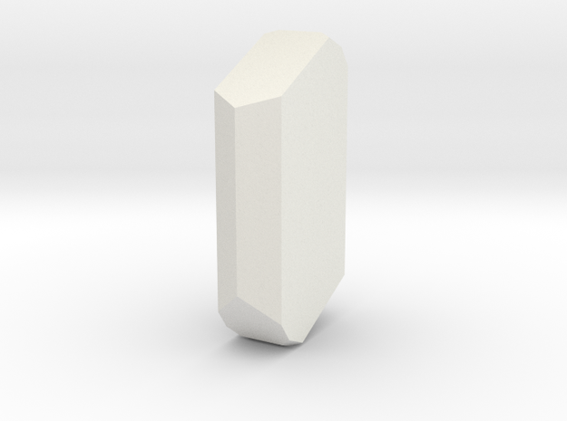 Orthoclase 2 in White Natural Versatile Plastic