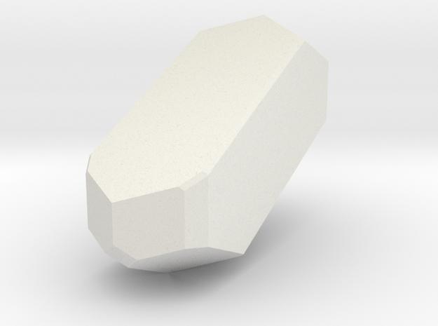 Orthoclase 460 in White Natural Versatile Plastic