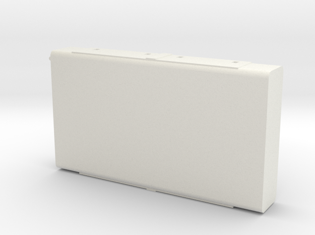 Burlington Northern E Unit Fuel Tank in White Natural Versatile Plastic: 1:87 - HO