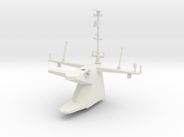 1/96 scale LCS 5+ Class  - Main mast in White Natural Versatile Plastic