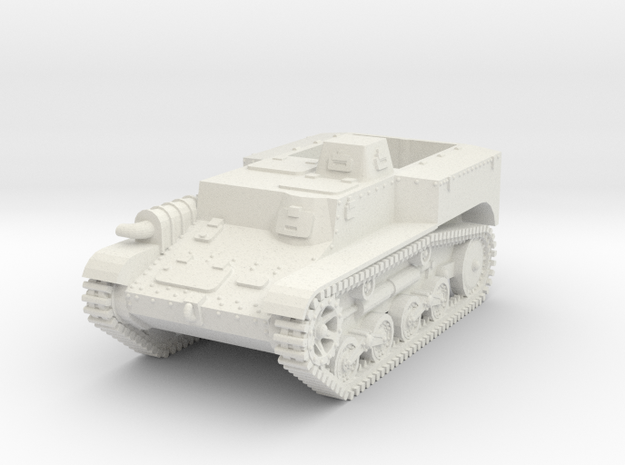 1/72 Type 98 So-Da APC in White Natural Versatile Plastic