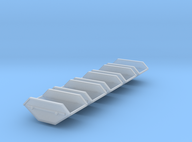 5x Mulde-5qm (1/220) in Smooth Fine Detail Plastic
