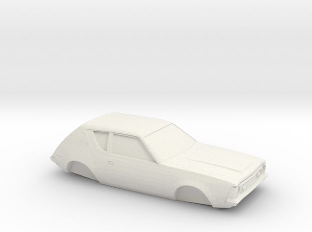 1/32 1973 AMC Gremlin shell in White Natural Versatile Plastic