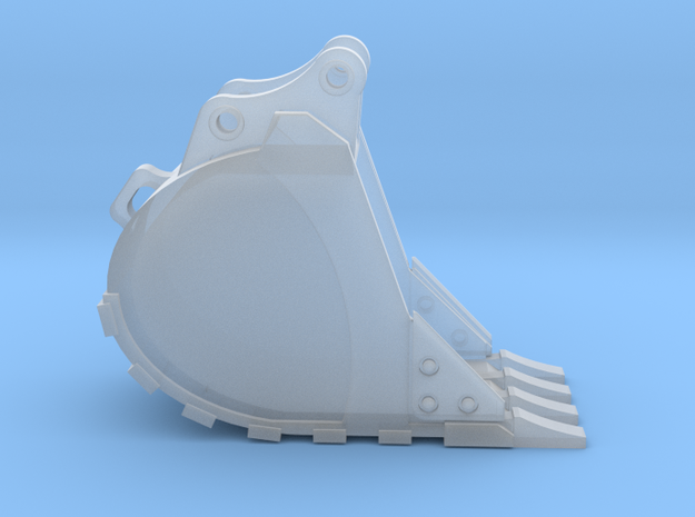 1:50 Trench Bucket for 20 Ton excavator models.  in Smooth Fine Detail Plastic