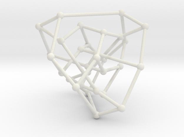 Tutte-Coxeter graph in White Natural Versatile Plastic