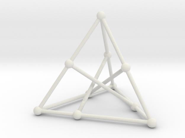 Petersen graph in White Natural Versatile Plastic