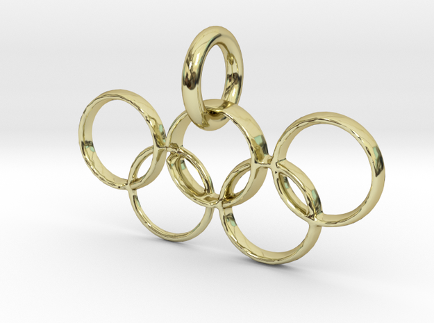 Olympic Gold in 18K Yellow Gold: Extra Small
