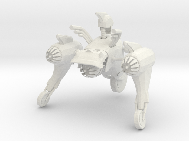 Jukebot in White Natural Versatile Plastic