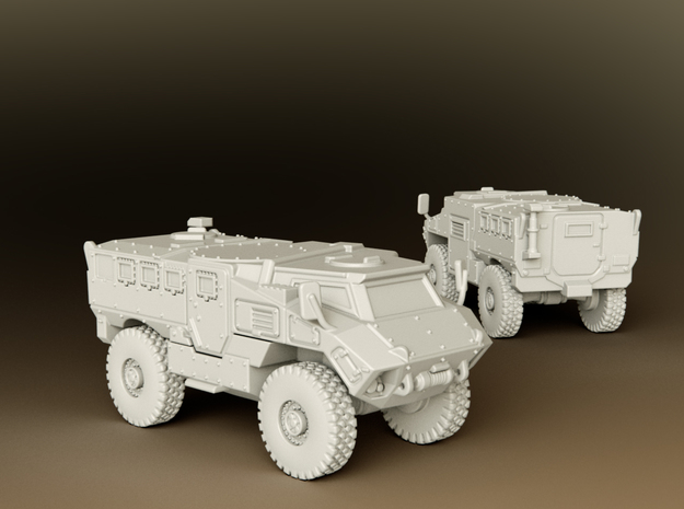 MRAP RG35 MIV Scale: 1:96 in Smooth Fine Detail Plastic