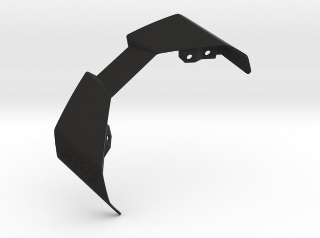 YAMAHA MT-10 Linked Tail Fin Mk.6 in Black Natural Versatile Plastic