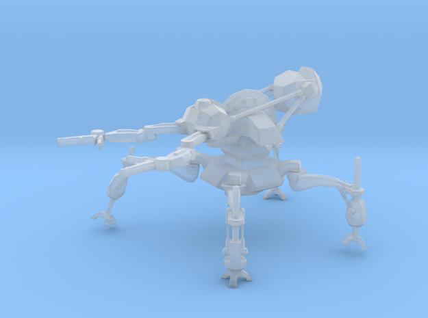 Robot Service Loader in Smooth Fine Detail Plastic