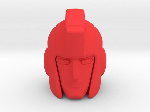 Ironhide 17mm met 5mm klik bol in Red Processed Versatile Plastic