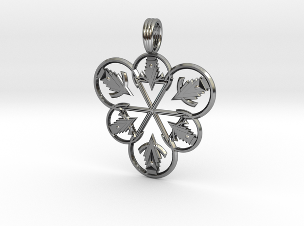 CASTING MAGICK in Antique Silver
