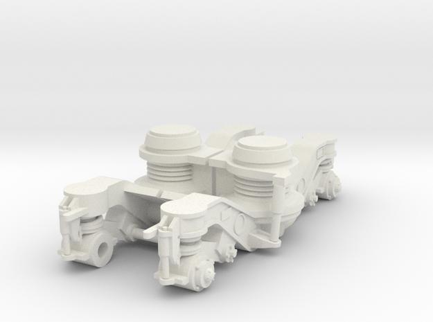 ICR draaistel zijkanten 1:32 in White Natural Versatile Plastic