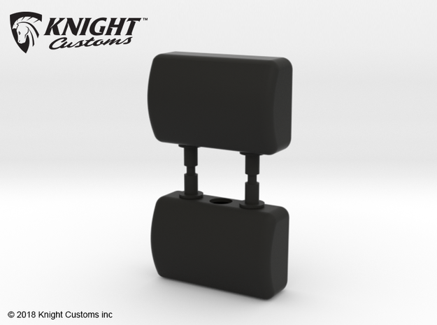 CT10015 C10 Headrests in Black Natural Versatile Plastic