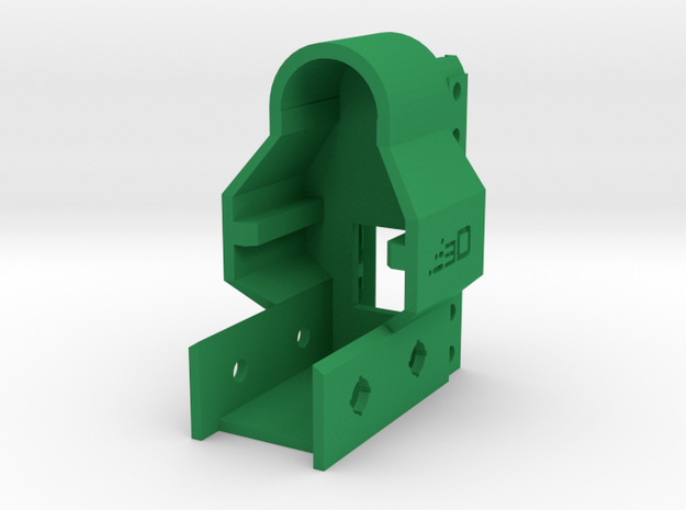 G3 Receiver Picatinny Mount Adapter in Green Processed Versatile Plastic