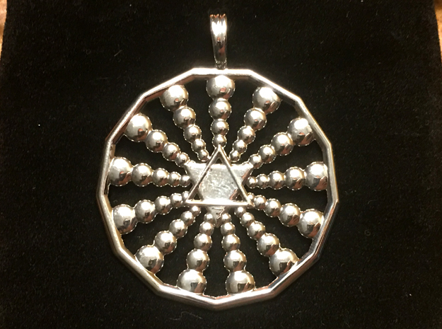 INFINITE SISTAR in Rhodium Plated Brass