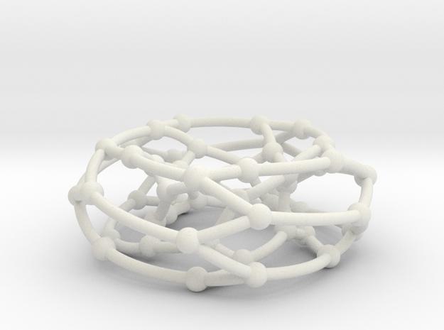 F50A graph on torus in White Natural Versatile Plastic