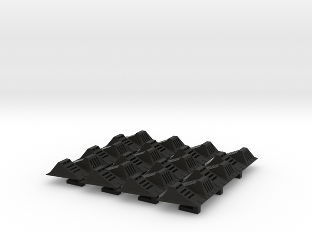 Echo Base Ground Lights 1:43 Tapered 24x in Black Natural Versatile Plastic