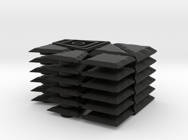 Keystone Set in Black Natural Versatile Plastic
