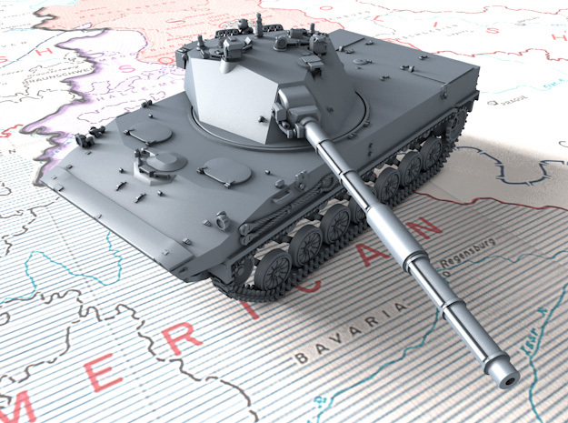 1/160 (N) Russian 2S25 Sprut-SD Tank Destroyer in Smooth Fine Detail Plastic