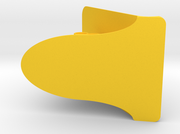 Minion Phone Stand in Yellow Processed Versatile Plastic: Small