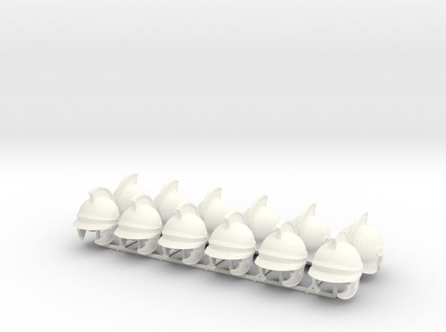 ETHAN 25  in White Processed Versatile Plastic