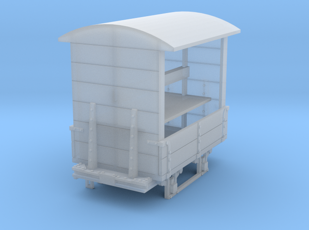 a-55-gr-turner-covered-wagon in Smooth Fine Detail Plastic