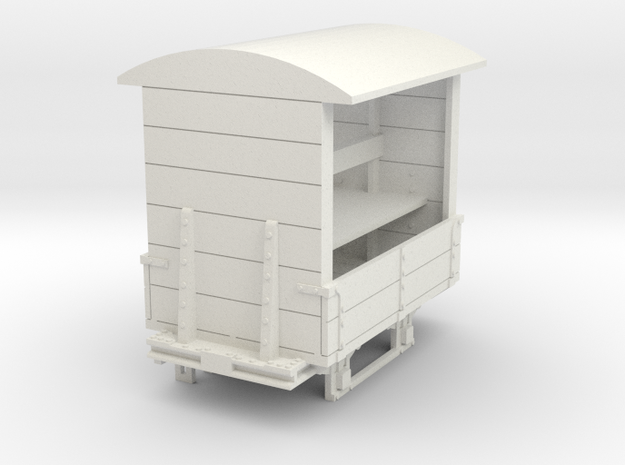 a-43-14-gr-turner-covered-wagon in White Natural Versatile Plastic