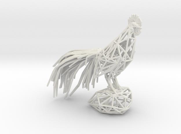 LongCrower in White Natural Versatile Plastic