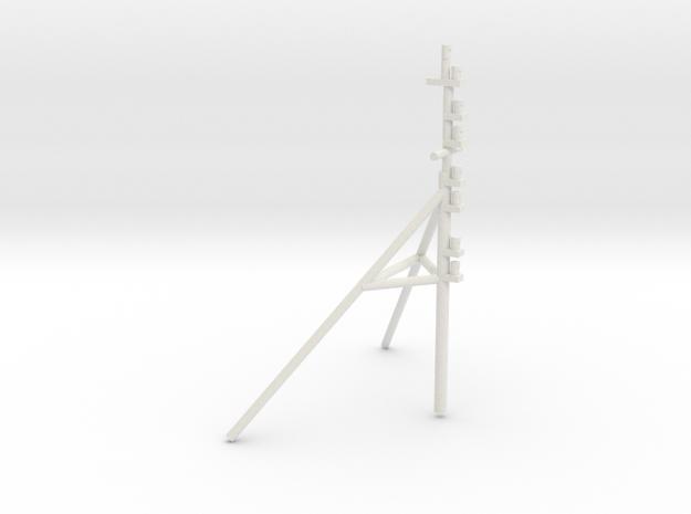 UT 704 bow mast (1:50) in White Natural Versatile Plastic