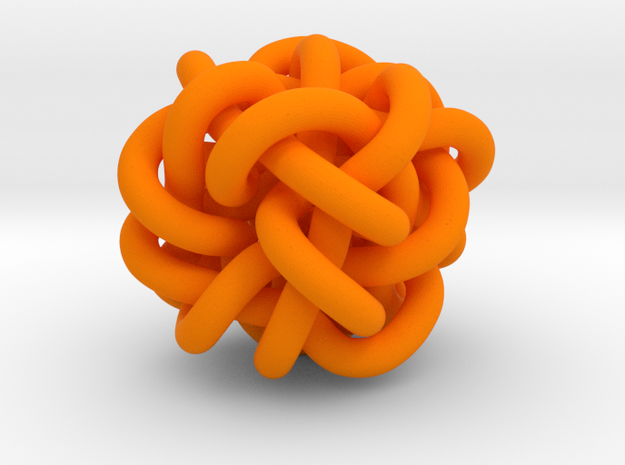 B&G Knot 04 in Orange Processed Versatile Plastic