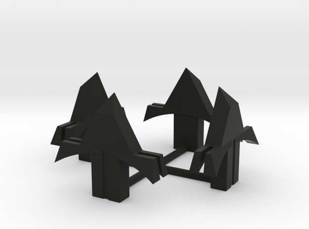 RX100 Shutter Release Mount in Black Natural Versatile Plastic