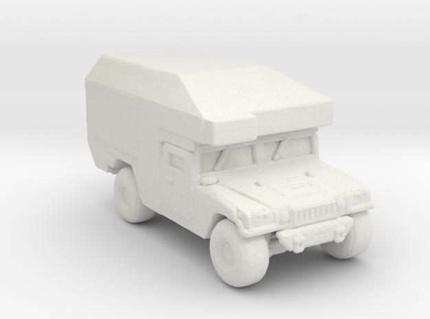 M997 command and maxi Ambulance 285 scale in White Natural Versatile Plastic