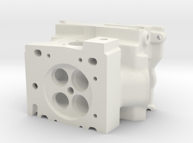 Combustion Chamber of a race engine - Réplica de C in White Natural Versatile Plastic