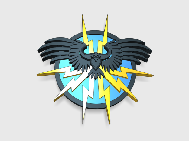 [Tiny Titians] Thunderbird: Warlord Insignia Sets