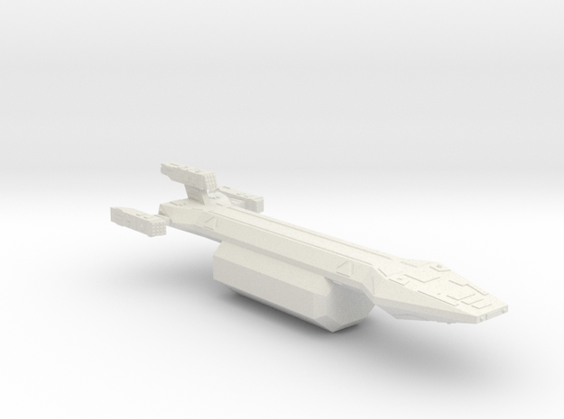 3788 Scale Hydran Caravan Fleet Tug CVN in White Natural Versatile Plastic