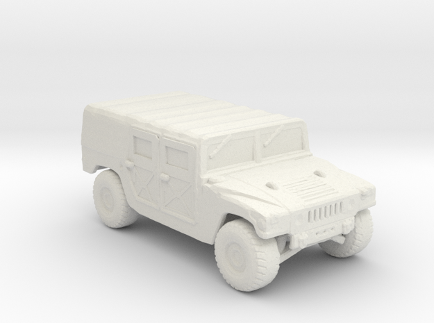M998a1 Troop-Cargo 220 scale in White Natural Versatile Plastic