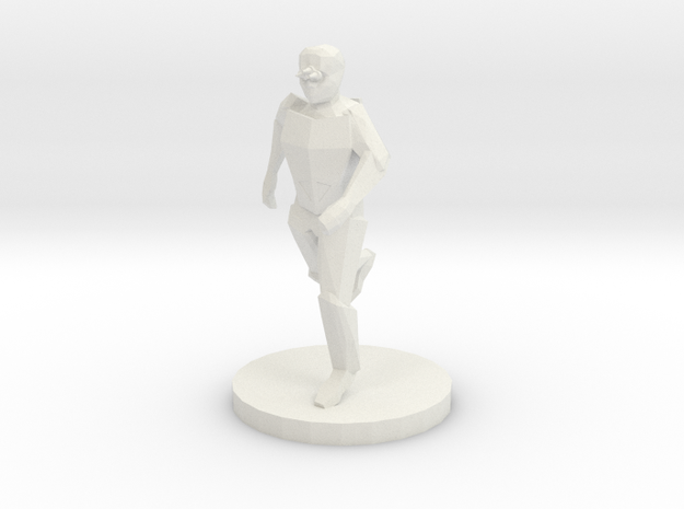 Special Forces Night Operator (28mm Scale) in White Natural Versatile Plastic