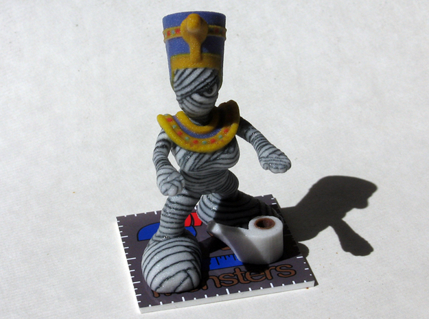 Mini Mummy 3d printed