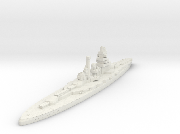 Kongo Class (Japan) in White Natural Versatile Plastic