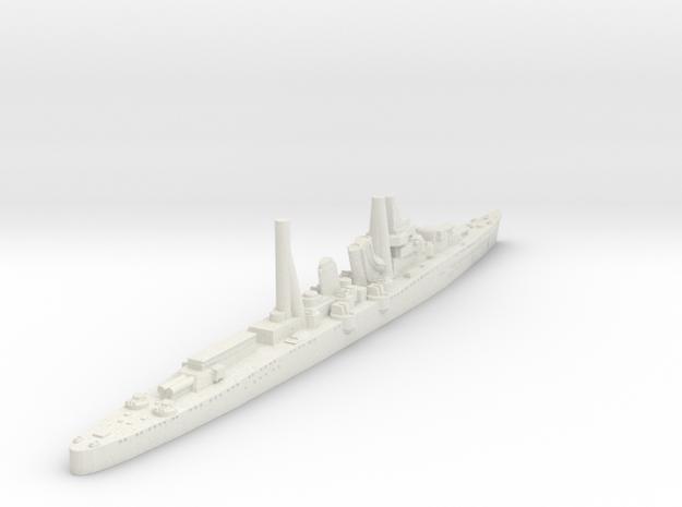 Aoba Class heavy Cruiser (Japan) in White Natural Versatile Plastic
